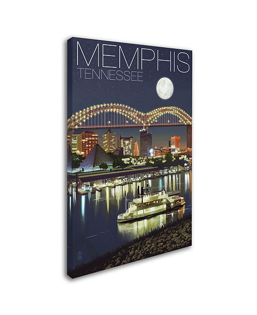 Trademark Global Lantern Press 'Memphis' Canvas Art