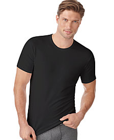 Calvin Klein Men's Cotton Stretch Crew Neck Undershirt 2-Pack