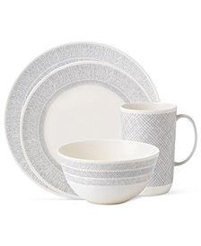 Vera Wang Wedgwood Dinnerware, Simplicity Cream Collection