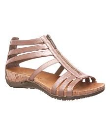 BEARPAW Women's Layla Flat Sandals