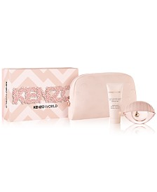Kenzo Kenzo World Eau de Toilette 3-Pc Gift Set