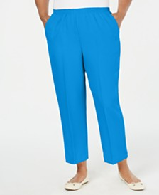 Alfred Dunner Plus Size Classic Pull-On Pants