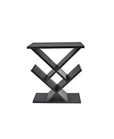 Zig-Zag Accent Table, Quick Ship