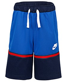 Little Boys Colorblocked Just Do It Dri-FIT Shorts