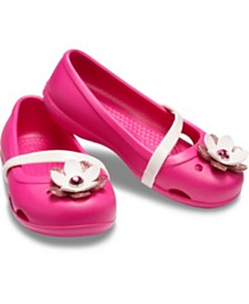 Crocs Baby, Toddler & Little Girls Lina Charm Flat