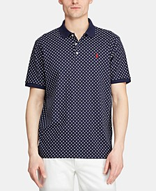 Men's Big & Tall Classic Fit Printed Polo