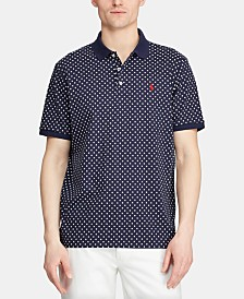 Polo Ralph Lauren Men's Big & Tall Classic Fit Printed Polo