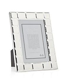 Philip Whitney Silver Cushion Frame - 4x6