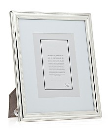 Philip Whitney Silver Beaded Frame - 8x10