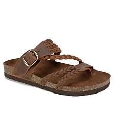 White Mountain Hayleigh Flat Sandals