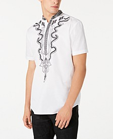 INC Men's Dashiki Shirt, Created for Macy's