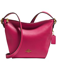 COACH Crossbody Dufflette in Refined Leather