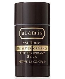 "Men's ""24 Hour"" High Performance Antipersperant Stick, 2.6 oz"