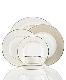 Dinnerware, Etoile Platinum Collection