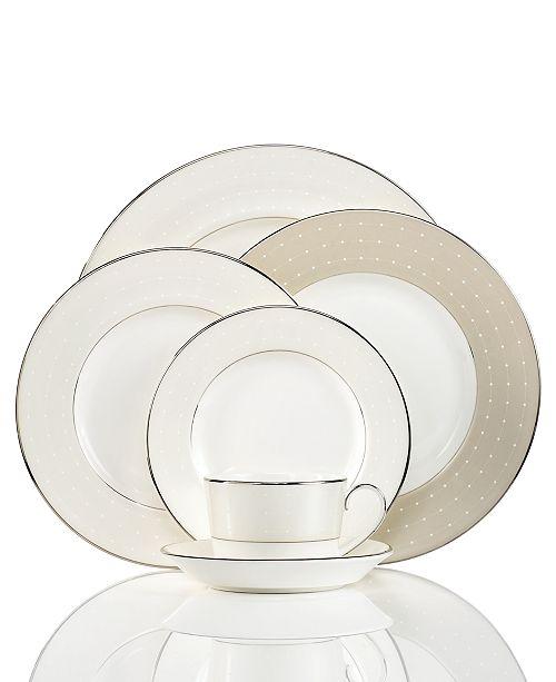 Monique Lhuillier Waterford Dinnerware, Etoile Platinum Collection