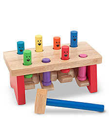 Melissa and Doug Kids Toys, Deluxe Pounding Bench