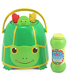 Melissa and Doug Kids Toys, Tootle Turtle Bubble Bucket