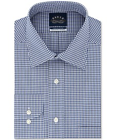 Eagle Men's Big & Tall Classic/Regular-Fit Non-Iron Stretch-Collar Check Dress Shirt