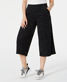 Ideology Cropped Wide-Leg Pants, Created for Macy's
