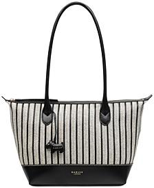 East West Zip-Top Tote Bag