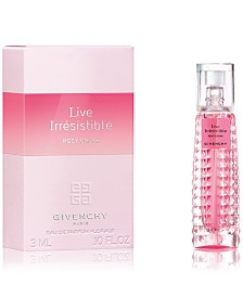 Receive a Complimentary Live Irrésistible Rosy Crush Mini with any large spray purchase from the Givenchy Women's fragrance collection
