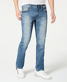 INC Men's Grant Slim Straight Jeans, Created for Macy's