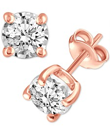 Diamond Stud Earrings (3/4 ct. t.w.)