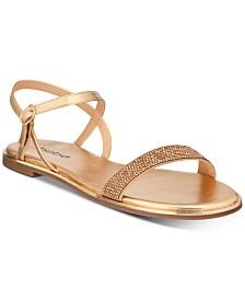 bebe Brilynn Flat Sandals
