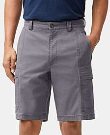 "Men's Big & Tall Key Isles 9.5"" Cargo Shorts, Created for Macy's"