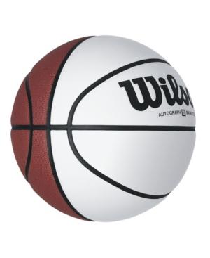 Wilson Official Size Autograph Basketball