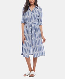 Karen Kane Cotton Shirtdress