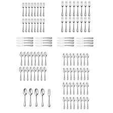CLOSEOUT! Cecily 101-PC Flatware Set, Service for 12