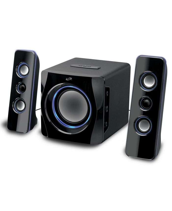 iLive - Bluetooth 2.1 Channel Home Music System with LED Lights