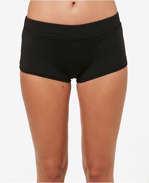 O'Neill Juniors' Salt Water Solids Boyshort Swim Shorts