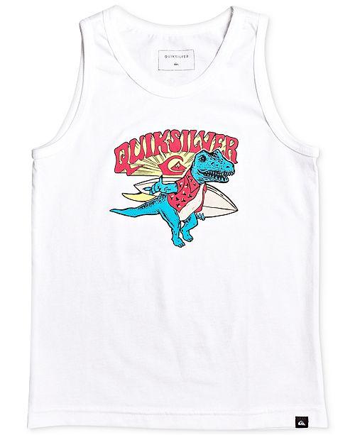 Quiksilver Toddler Boys Dino Surf-Print Cotton Tank Top