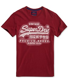Superdry Men's Premium Goods Textured Logo Graphic T-Shirt