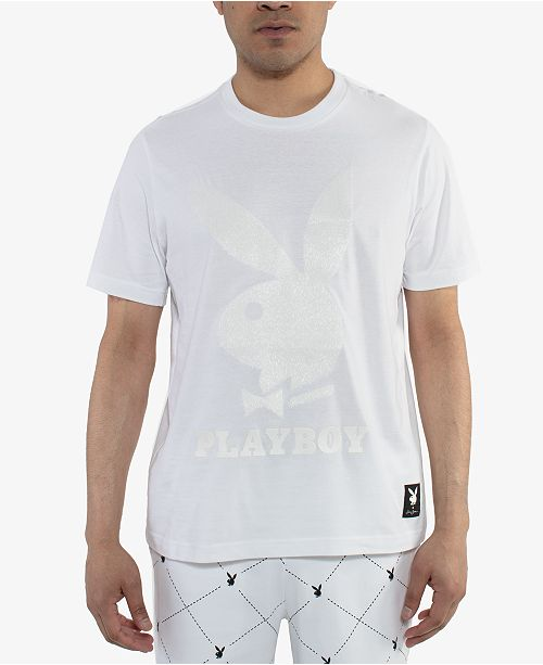 Sean John Men's Playboy Collection Logo T-Shirt