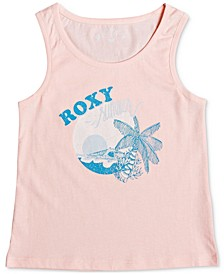 Toddler & Little Girls Graphic-Print Cotton Tank Top