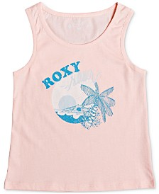 Roxy Toddler & Little Girls Graphic-Print Cotton Tank Top
