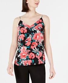 Calvin Klein Floral-Print Strappy Camisole
