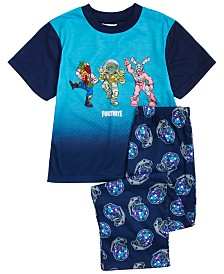 AME Big Boys 2-Pc. Fortnite Team Dance Pajama Set