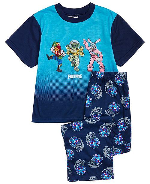 AME Big Boys 2-Pc. Fortnite Team Dance Pajama Set