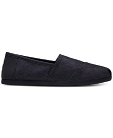 TOMS Men's Alpargata Denim Slip-Ons