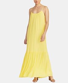 RACHEL Rachel Roy Leo Metallic-Stripe Maxi Dress