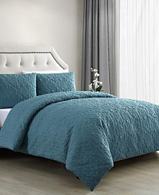Caroline 3-Pc. King Duvet Cover Set