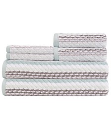 Caro Home Carlyle 6-Pc. Towel Set