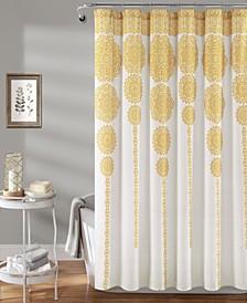 """Medallion Stripe 72""""x 72"""" Shower Curtain"""