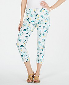 Bristol Capri Printed Jeans, Created for Macy's