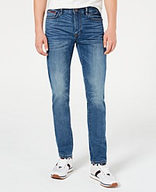 Men's Slim-Fit Yeti Cool Denim Jeans, Created for Macy's