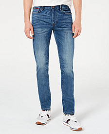Tommy Hilfiger Men's Slim-Fit Yeti Cool Denim Jeans, Created for Macy's